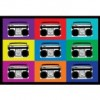 (13×19) Boombox Stereos Pop Art Print Poster Reviews