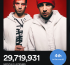 Stats: twenty one pilots 4th most listened artist on Spotify!