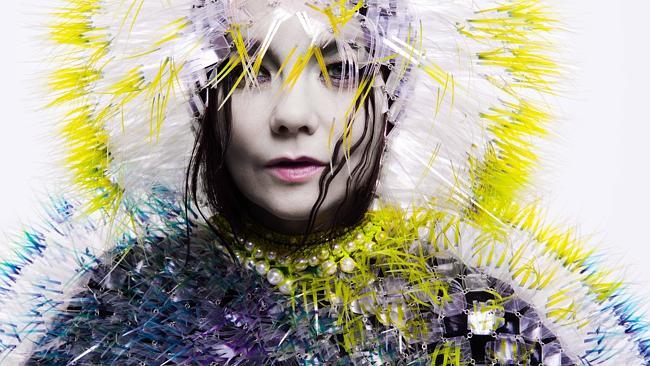 Love lost ... Bjork new album Vulnicura is heartbreak album. Picture: Supplied.