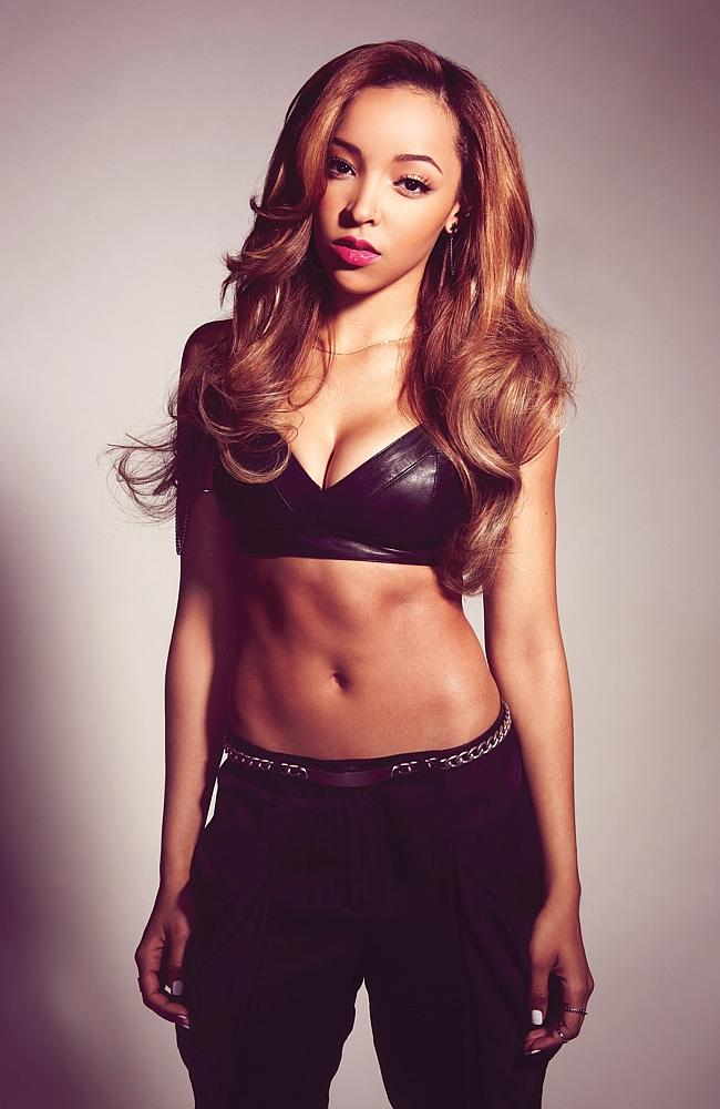 Triple threat ... Tinashe hits the stage as hard as the charts and will open for Iggy Aza