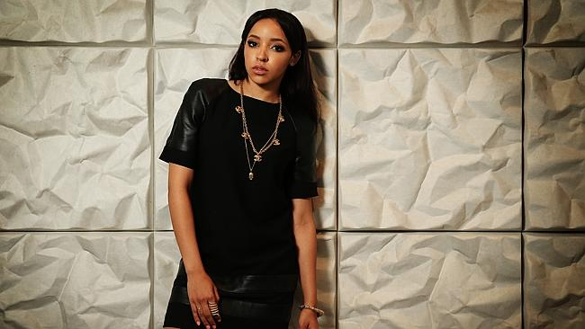 Rising star ... R'n'B singer and songwriter Tinashe put critics on notice with debut reco