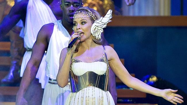 Fans fave ... Minogue has ruled herself out of Eurovision contention despite a fan-lead c