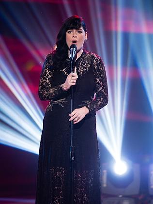 Early contender ... Karise Eden's name was on organiser's long list for Eurovision. Pictu