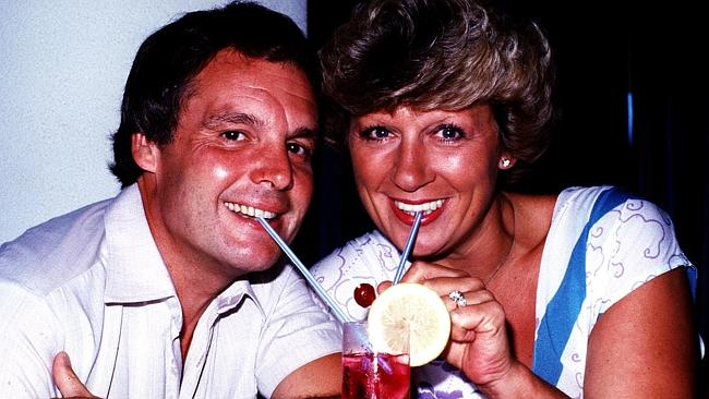 Jackie Trent with then-husband Tony Hatch in 1983.