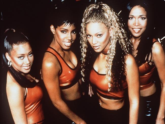 Talented spotted early ... Early Destiny's Child (left to right) Farrah Franklin, Kelly R