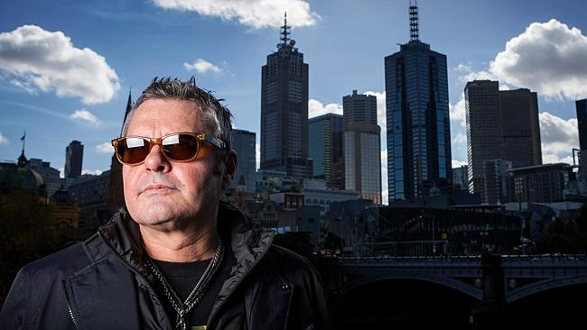 Affinity ... INXS drummer Jon Farriss says he had a spiritual connection with Viv Richard