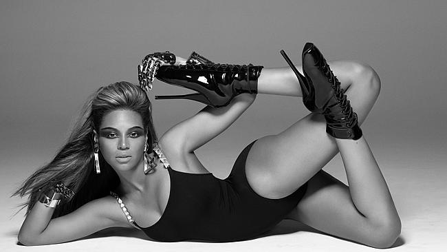 Beyonce in her Ducktales, we mean Single Ladies clip.