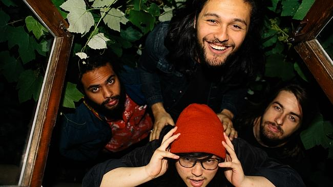 What's cool? ... Gang Of Youths' harbour ambitions to be stadium-sized rockers. Picture: