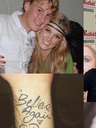 Bohdi's Believe Again wrist tattoo.