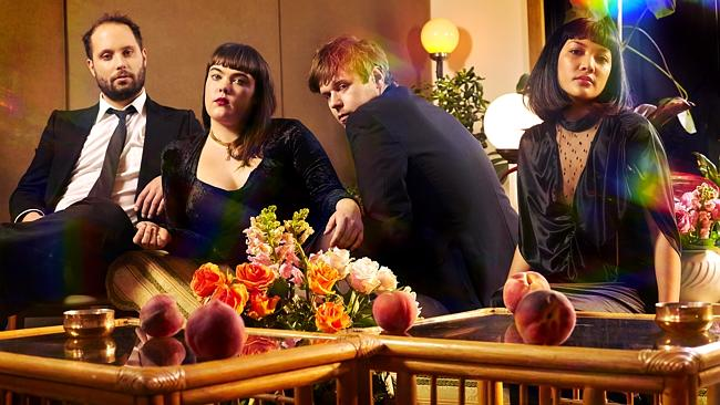Peachy keen. Totally Mild Melbourne art-pop band with debut album Down Time on Bedroom Su