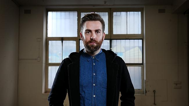Almost ... Josh Pyke got rockblocked from No. 1 by Meghan Trainor. Picture: Richard Dobso
