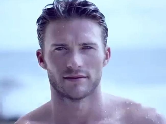 Scott Eastwood in an ad for Davidoff Cool Water.