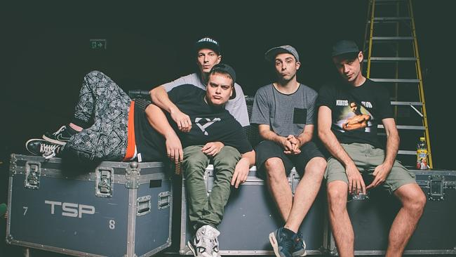 Side projects ... Tuka and his Thundamentals bandmates all pursue solo projects. Picture: