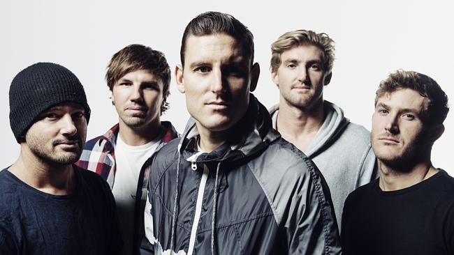World leaders ... Byron Bay metalcore champions Parkway Drive have a huge following in Eu