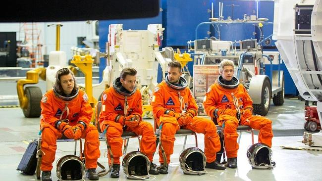 Right Stuff? One Direction seem to be on track for another stratospheric boost to their c