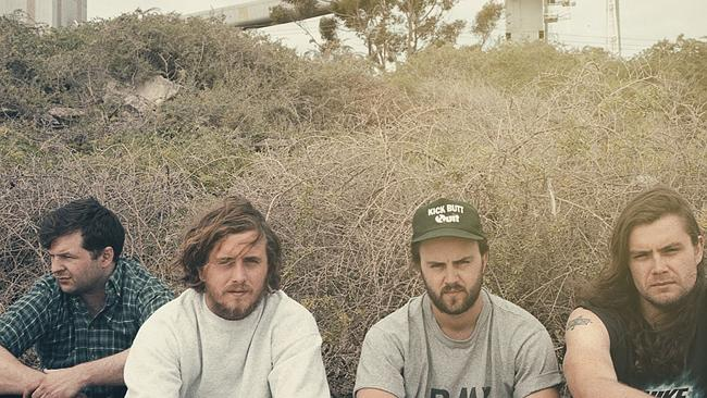 Bad//Dreems are a mauling Adelaide band with Dogs At Bay debut album nipping at your heel