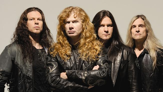N13wp606 a1 Megadeth will tour Australia with a new album next month.