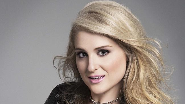 Low sales ... Meghan Trainor has hit No. 1 for the fourth time this week, but with less t