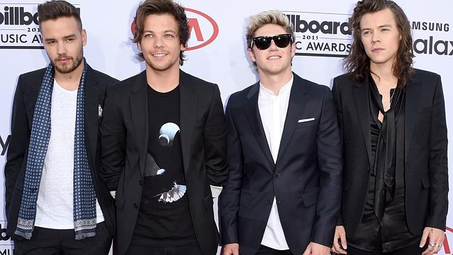 It's a date ... US media are reporting that One Direction will release their fifth album