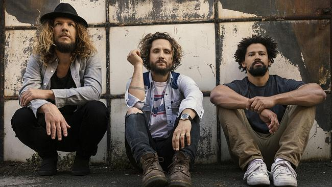 Go West ... John Butler Trio headline the second Vanfest in Forbes this year. Picture: Su