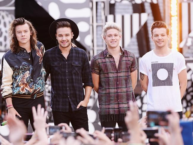 Final bow ... One Direction's fifth album will be their first as a four-piece after Zayn
